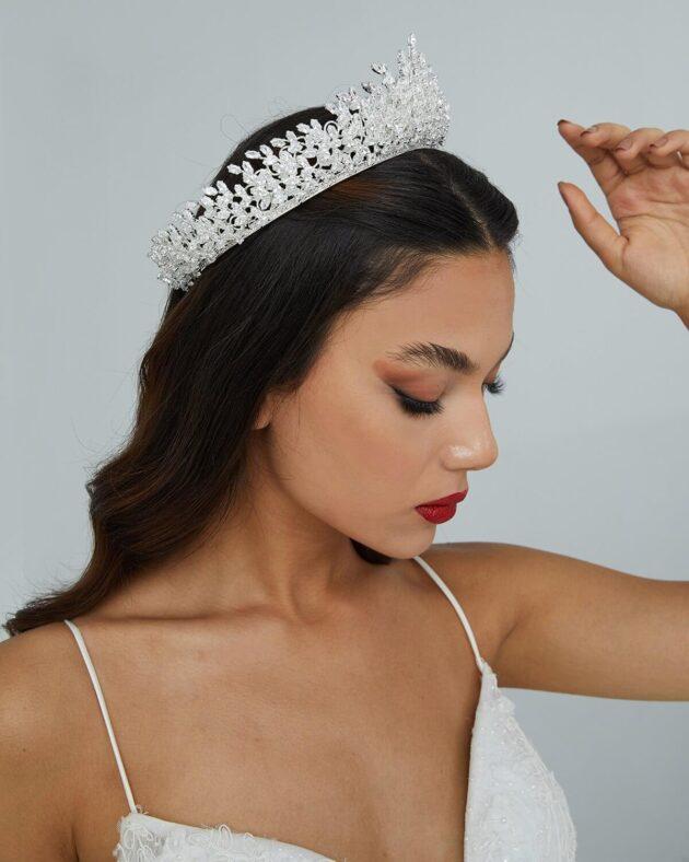 Tocado de novia: Idra Crown