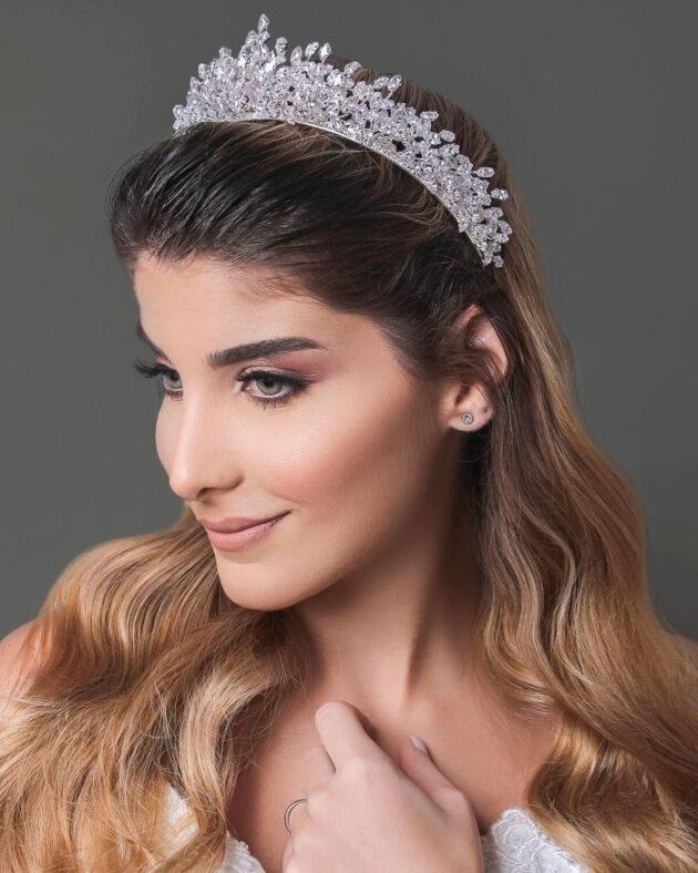 Tocado de novia: Sisi Crown