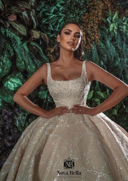 The most exclusive and luxurious wedding dress wear in Venezuela - Official Nova Bella Bridal distribuitor for Caracas and Margarita Island, Venezuela
