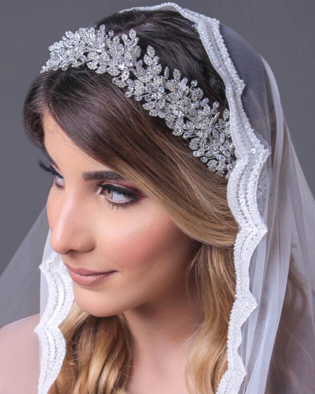 Tocado de novia: Batul