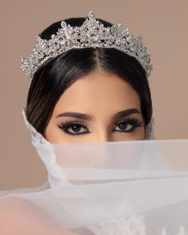 Tocado de novia: Artemis Crown