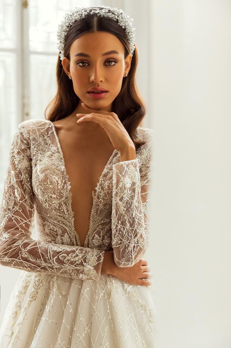 Amarás con locura este vestido de novia de la mano de los diseñadores de Lucesposa - Bridal Room Boutique: Tu tienda de novias en Venezuela