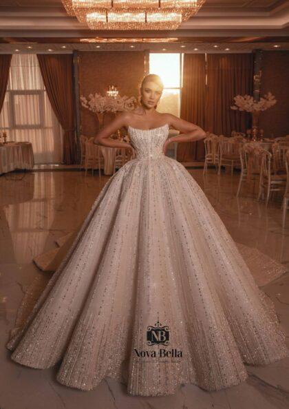 Los más lujosos vestidos de novia en Venezuela - En Bridal Room Boutique somos distribuidoras oficiales y exclusivas de los diseñadores europeos NOVA BELLA, consigue tu vestido de novia en Margarita y Caracas