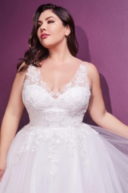 En Bridal Room Boutique podrás conseguir tu vestido de novia plus size, tenemos todas las tallas grandes de la XL hasta 5XL, los modelos más hermosos de vestidos de novias XL en Caracas, Venezuela