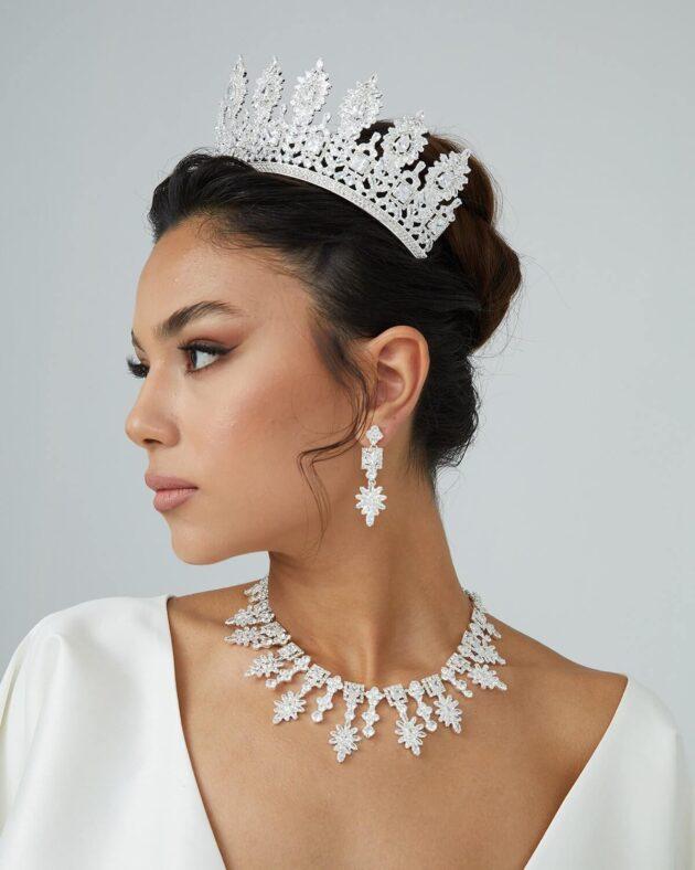 Tocado de novia: Segrid Crown
