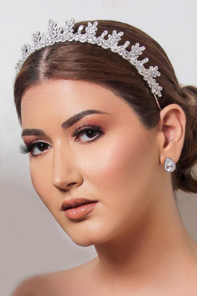 Tocado de novia: Grecia Crown