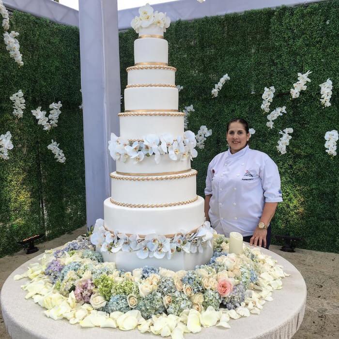 Bodas lujosas en Venezuela, los mejores pasteles y tortas de bodas en Margarita, Venezuela