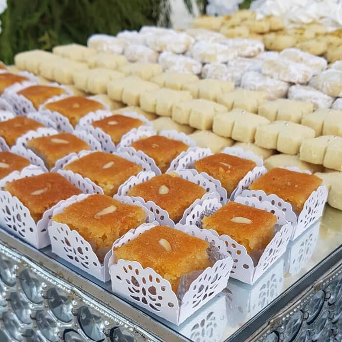 Dulces árabes para bodas en Margarita, Venezuela - Sweet Shereza: mejores postres para eventos y bodas