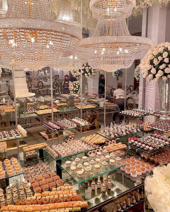 Mini dulces árabes para eventos y bodas en la Isla de Margarita, Venezuela - Darin's Pastries