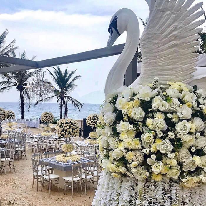 Floristería, mobiliario y decoración de bodas en la Isla de Margarita, Venezuela - Amor Amor Eventos