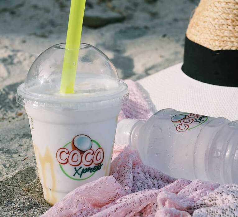 Las mejores cocadas de la Isla de Margarita · Coco Xpress ¡refresca tu vida!