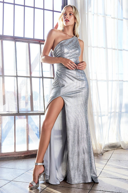 Vestidos de gala con escote asimétrico en Caracas, Venezuela - Evening Dress Boutique