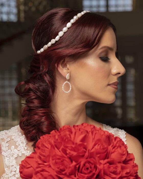 José Manuel Cerrada Marcano · Peinados para novias en Margarita, Venezuela, estilista de bodas