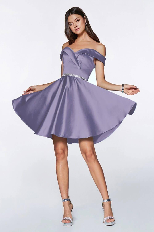 Vestidos de fiesta en Venezuela - Modelo Amelia en color french lilac - Mejores vestidos de gala