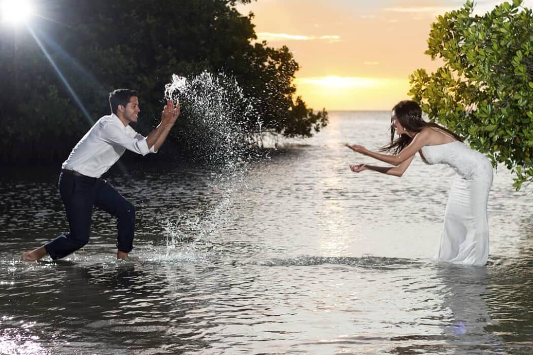 Servicio profesional de fotografía para bodas en Margarita: Brunellophoto, fotógrafo de bodas en Venezuela
