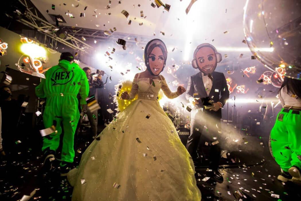 Música y sonido profesional para bodas en Margarita, Venezuela · HEX: Fiestas de hora loca