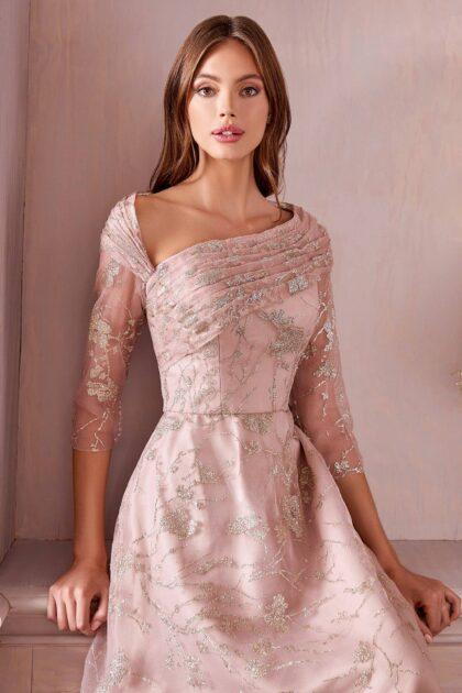 Elegantes vestidos de fiesta con diseño asimétrico - Evening Dress Boutique: vestido de gala ideal para la madre del novio o la novia