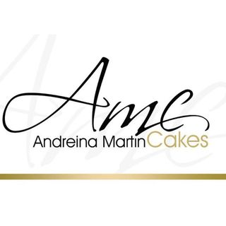 Logo de Andreina Martin Cakes - Especialista en pasteles de bodas en Venezuela y en reposteria fina en Margarita