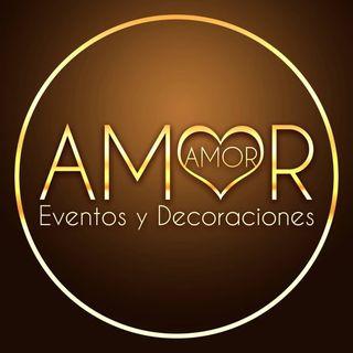 Logo de Amor Amor Eventos: floristería, mobiliario y decoración de bodas en Margarita, Venezuela
