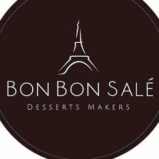 Logo de Bon Bon Salé Desserts Makers - Postres gourmet para bodas en Margarita, Venezuela
