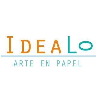 Logo de Ideálo: tarjetería para bodas en Margarita, Venezuela · Arte en papel