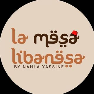 Logo de La Mesa Libanesa: catering para bodas en Margarita, Venezuela by Nahla Yassine