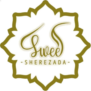 Logo Sweet Sherezada: Dulces árabes y postres para bodas en la Isla de Margarita, Venezuela - Realizados por Sherezada Elneser