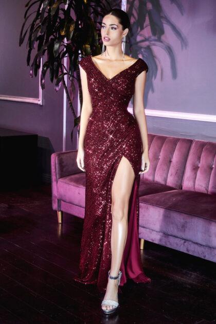 Sé la reina de la noche con este reluciente vestido de gala - Consigue lo más hermosos modelos de vestidos de fiesta en Venezuela con Evening Dress Boutique