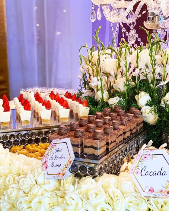 Fantásticas mesas llenas de postres para sorprender a tus invitados de bodas en Margarita, Venezuela - So Sweet