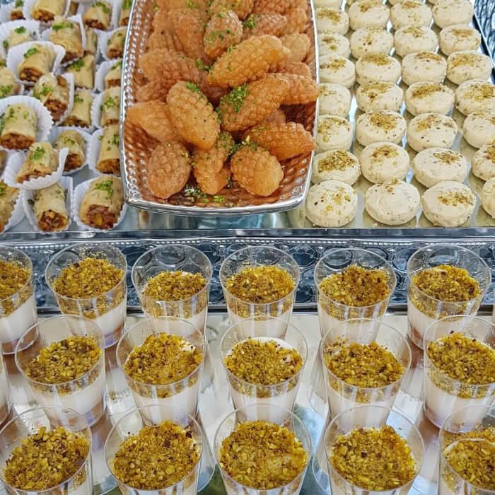 variedad de dulces, postres y delicateses árabes para bodas en Margarita, Venezuela - Sweet Sherezada