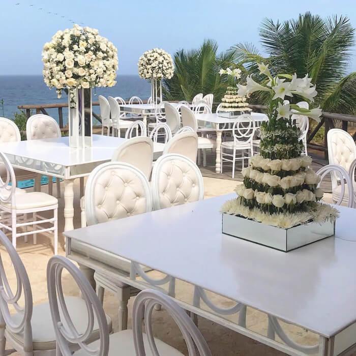 Deja tu celebración de bodas en manos espertas de ambientaciones, diseño y decoración de bodas en Margarita, Venezuela: Amor Amor Eventos