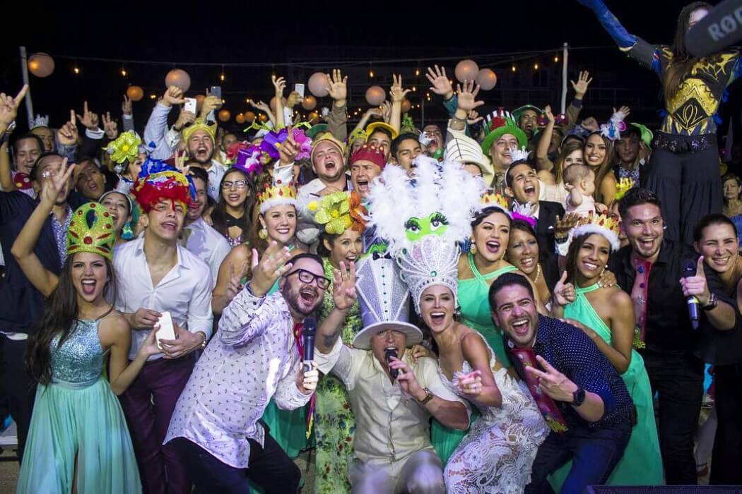 Contraseña TM · Hora loca y música para bodas en Margarita, Venezuela: Música en vivo para fiestas de bodas