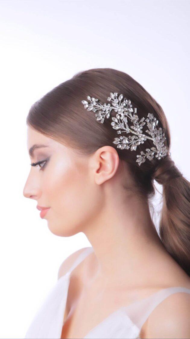 Tocado de novia: Ishtar