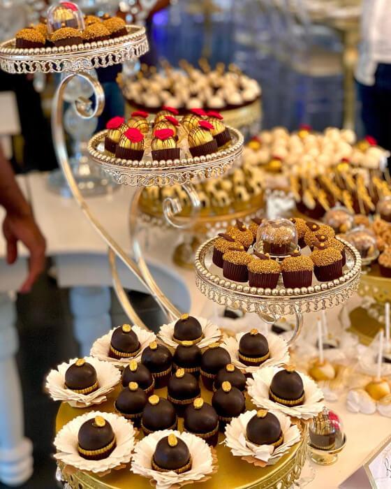 Mini postres árabes para bodas en Margarita, Venzeula - Darin's Pastries - Dulces y delicateses