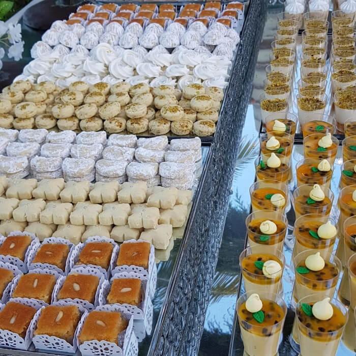 Auténtica dulcería árabe para bodas en Margarita, Venezuela - Sweet Sherezada: postres para bodas