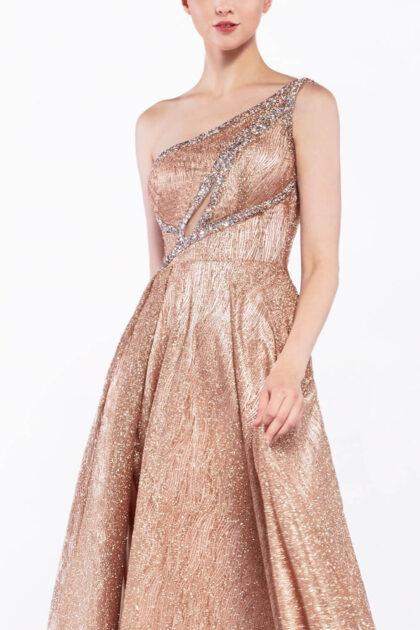 Vestidos de gala en Margarita - Diseños innovadores de escotes asimétricos, lo último en moda femenina - Elegancia y sofisticación