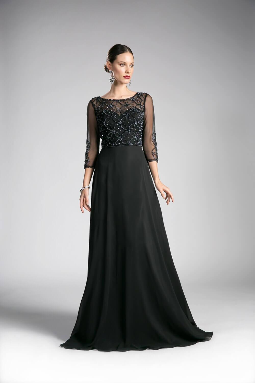 Vestidos elegantes para funerales en Caracas, Venezuela - En Evening Dress Boutique tenemos vestidos para lucir solemne en cualquier ocasión y evento