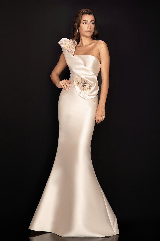 Vestidos de gala lujosos de los diseñadores Terani Couture, Los Angeles, California, importado a Venezuela por Evening Dress Boutique