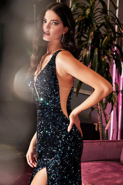 Sorprende a la multitud al entrar en el salón con este impresionante vestido de gala en Venezuela - Evening Dress Boutique