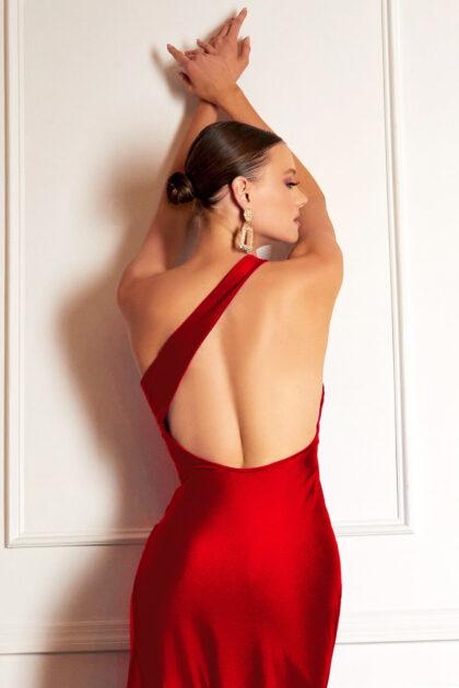 Vestidos de fiesta con escote asimétrico - Evening Dress Boutique Margarita, Venezuela - Vestidos de gala