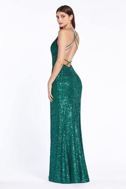 Te verás como un auténtica joya, así es este vestido color verde esmeralda, consigue vestidos de fiesta sexy económicos en Venezuela y de máxima calidad con Evening Dress Boutique