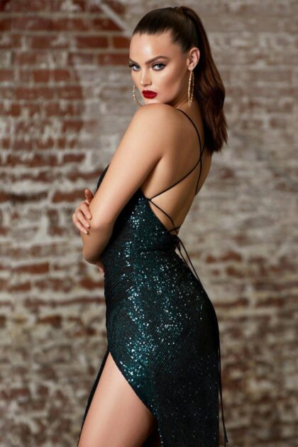 Luce un look chic y sexy con el vestido de fiesta Edén, consíguelo al mejor precio con Evening Dress Boutique Venezuela