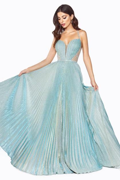 Vestidos de gala metalizados con brillo iridiscente en la Isla de Margarita, Venezuela - Evening Dress Boutique: tienda de vestidos de fiesta