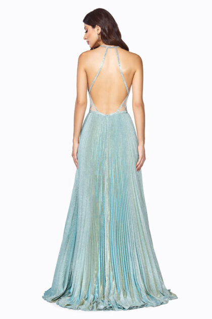 Vestidos de gala metalizados con brillo iridiscente en Margarita, Venezuela - Evening Dress Boutique: tienda de vestidos de fiesta