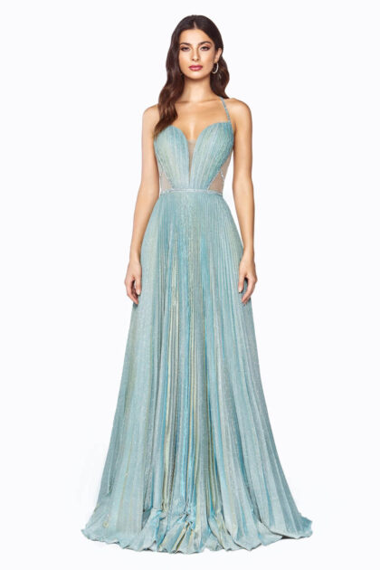 Consigue las mejores ofertas y descuentos de vestidos de fiesta en Veneezuela - Color Sea Mist, Evening Dress Boutique