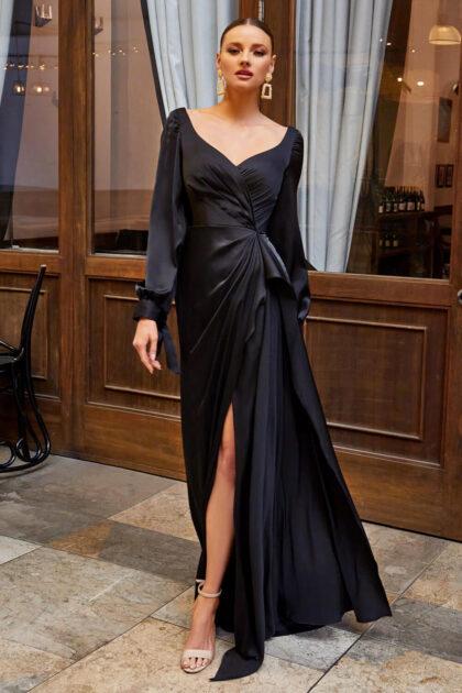 Vestidos de fiesta largos color negro en Venezuela, disponibles en las tiendas Evening Dress Boutique de Margarita y próximamente Distrito Capital