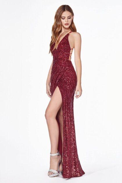 Deja ver un poco de tu muslo con este espectacular vestido de fiesta en Venezuela, un arma sexy para ocasiones importantes de tu vida, Evening Dress Boutique