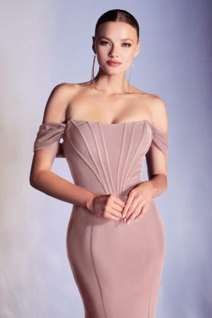 Luce radiante con este vestido de fiesta largo con silueta de corte sirena y falda trompeta - Evening Dress Boutique: vestidos de fiesta en Venezuela