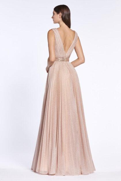 Vestidos de gala con espalda abierta en V profunda, consíguelos al mejor precio con Evening Dress Boutique Venezuela