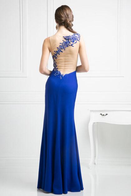 Luce como una Diosa usando este vestido de fiesta largo de corte vaina, consíguelo en Evening Dress Boutique de la Isla de Margarita, Venezuela